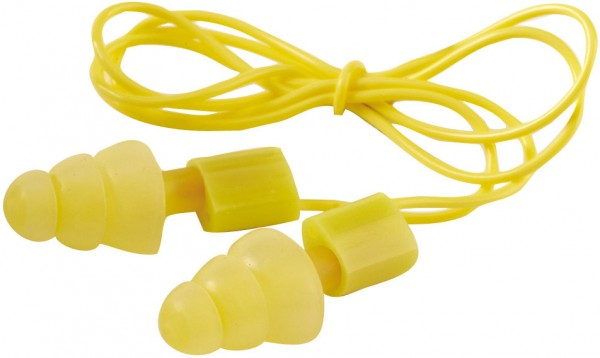 MEHRWEG Ohrstöpsel Gehörschutz mir KORDEL Rockets 1 Paar mit Box